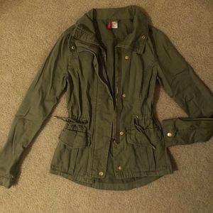 Army Green Anorak/Utility Jacket